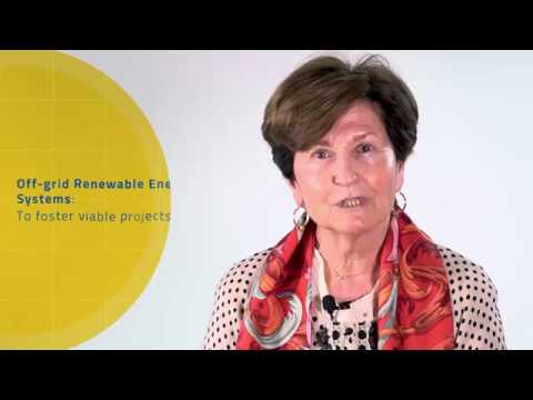 Lucila Izquierdo: Off-grid renewable energy systems to foster viable projects
