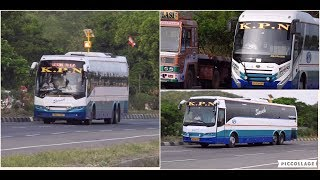Download Video KPN Travels Volvo and MAN buses near Chennai MP3 3GP MP4