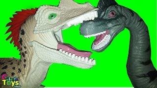 dinosaur toy collection dinosaur fighter 恐龙 o 공룡 dinosaurios prehistricos video for kids