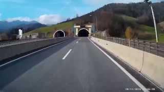překvapení v tunelu