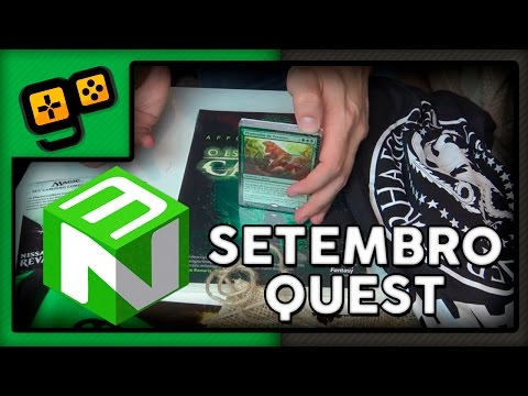 Nerd Ao Cubo - Setembro - Quest RPG