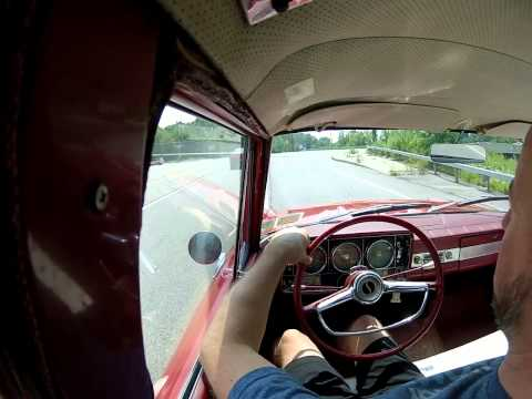 1964 Studebaker Commander 259 V8 driving