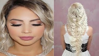 Easy Hairstyles For Medium Hair Tutorial ***  Nice Hairstyles For Girls