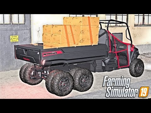 THE ULTIMATE BOX CARRIER - Let's Play Farming Simulator 19 | Episode 36