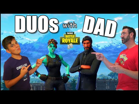 Fortnite Item Shop Countdown LIVE | Duo's With Dad | August 25th, 2019