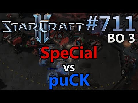 SpeCial (T) vs puCK (P) | BO3 | Starcraft 2: Replay-Cast #71