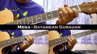 Mega - Bayangan Gurauan (Instrumental/Full Acoustic/Guitar Cover)