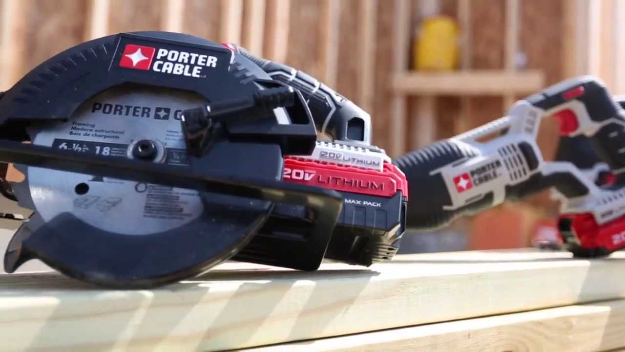 Porter cable 20v max li ion 6 12 circular saw youtube porter cable 20v max li ion 6 12 circular saw greentooth Choice Image