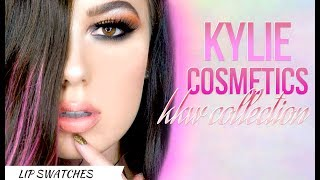 Kylie Cosmetics X Kim Kardashian West   Swatches   First Impressions  Review   Victoria Lyn Beauty