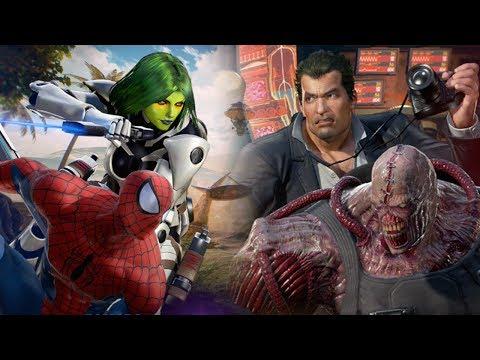 NEMESIS - GAMORA - SPIDERMAN - FRANK: Full Matches Marvel Vs Capcom Infinite