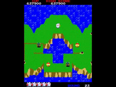 Namco : Dig Dug 2 - New Version (1982, 1985, 1998) - ディグダグ2(新バージョン)