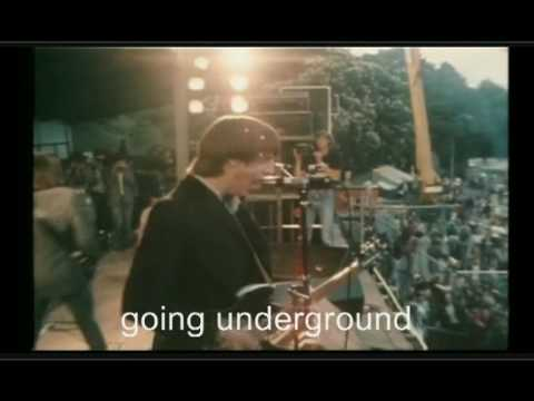 The Jam: Going underground (+ lyrics) Pinkpop 1980