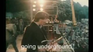 The Jam: Going underground (+ lyrics) Pinkpop 1980