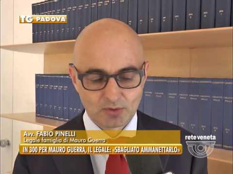 """PADOVA TG - 03/08/2015 - IN 300 PER MAURO GUERRA, IL LEGALE: """"SBAGLIATO AMMANETTARLO"""""""