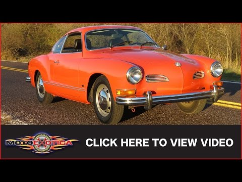1973 Volkswagen Karmann Ghia (SOLD)