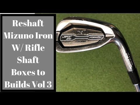 Mizuno Reshaft ,Rifle Shafts, Club Repair