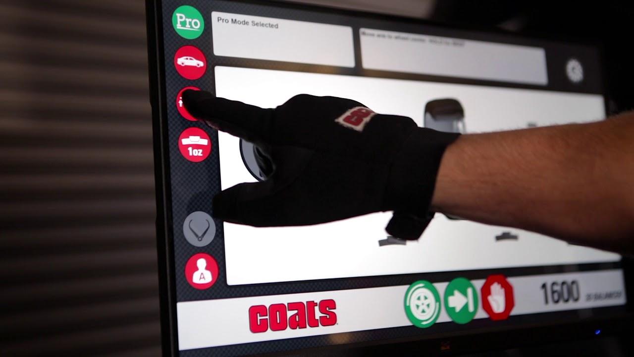Coats Wheel Balancer 1600 Demo