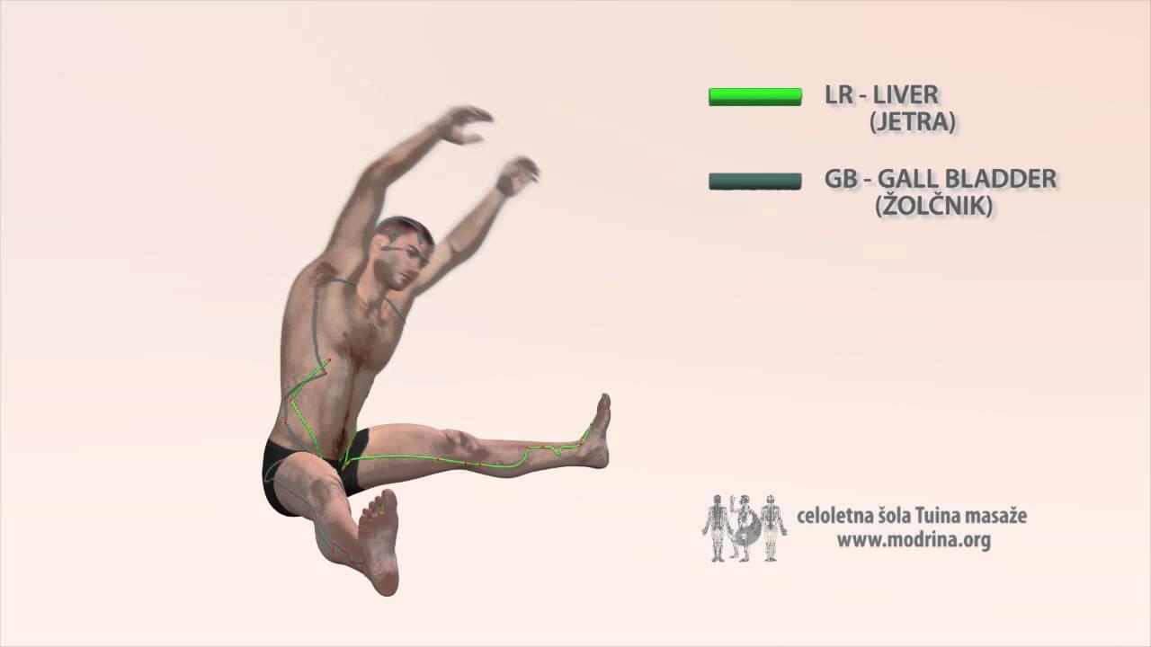 Exercise For Meridians Of Liver And Gall Bladder Vaja Za Odpiranje