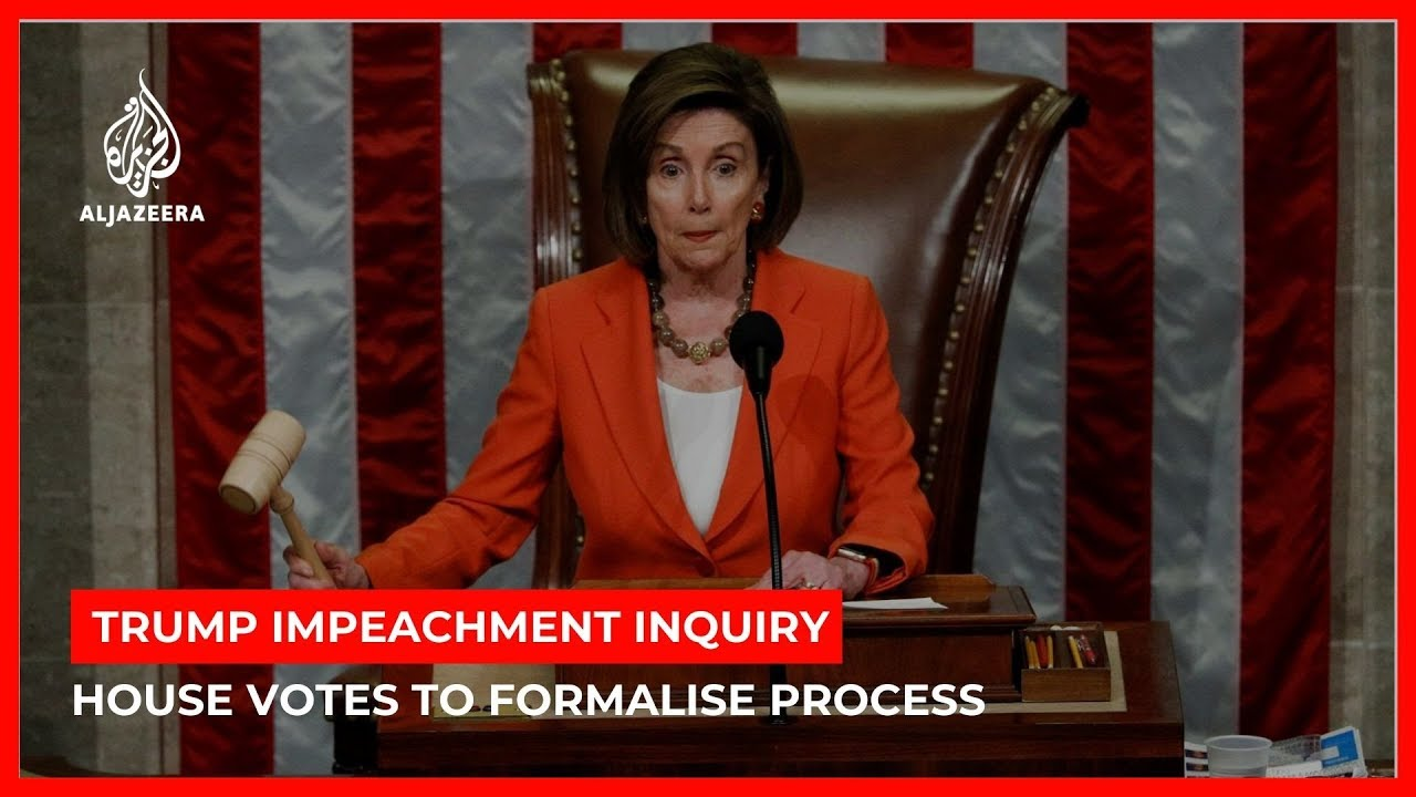 Trump impeachment inquiry: US House approves ground rules