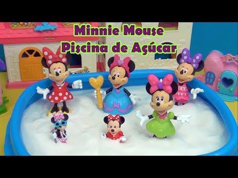Minnie Mouse Piscina de Açúcar -  Minnie Mouse Sugar Pool  #MINNIEMOUSE #EUAMOAMINNIE #ILOVEMINNIE