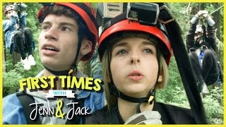 ZIP LINING! W/ JENNXPENN AND THATSOJACK   FIRST TIMES EP. 9