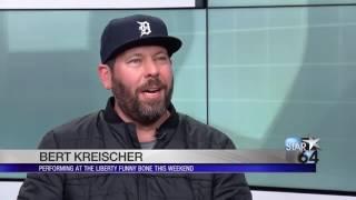 Bert Kreischer Makes Local News The Funniest Ever