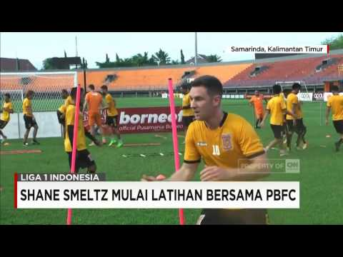 Shane Smeltz Mulai Latihan Bersama PBFC