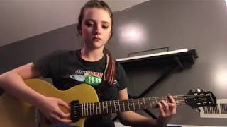Everybody Knows - Sigrid (ELECTRIC GUITAR COVER)