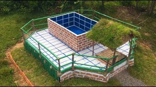 Build Hidden Home Under Swimming Pool