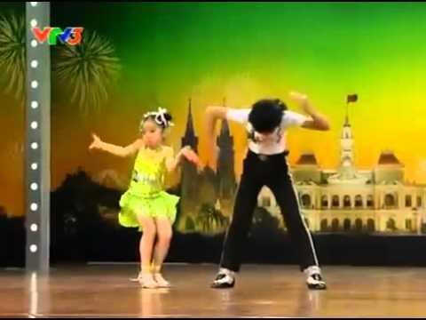 Đăng Quân - Bảo Ngọc - 2 bé nhảy Michael Jackson, Dance Sport. Vietnam