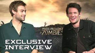 Matt Smith & Douglas Booth Exclusive Interview - PRIDE AND PREJUDICE AND ZOMBIES (2016)