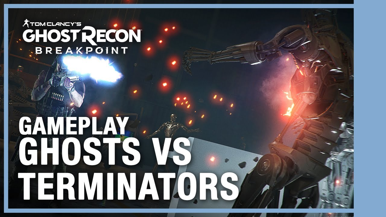 Ghost Recon Breakpoint - Ghosts VS Terminator Gameplay