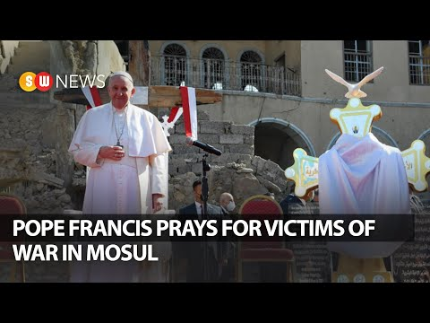 Pope Francis prays for war victims in Mosul | SW NEWS Special Bulletin | Day 03