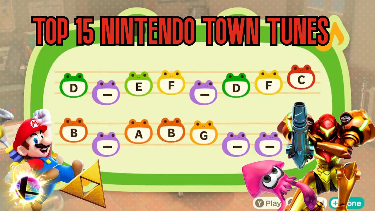 Top 15 Anime Town Tunes Animal Crossing New Horizons Youtube
