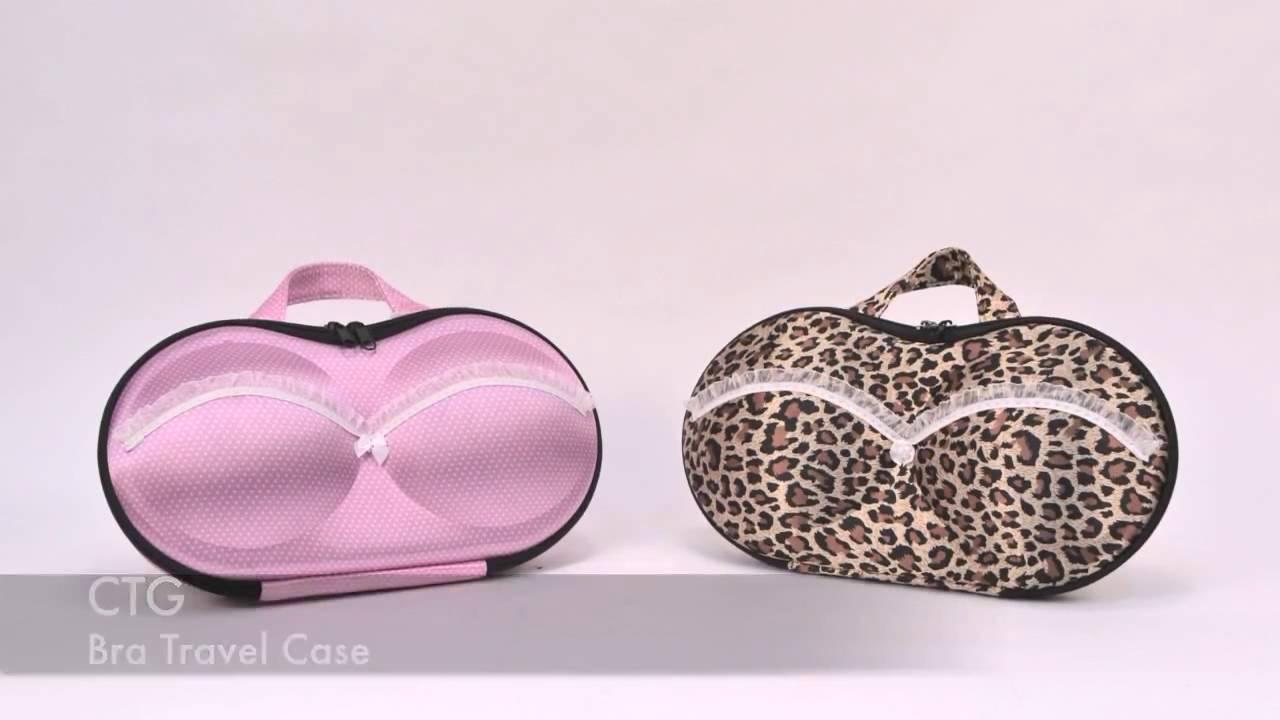 d017371511 Underwear Organiser   Bag Travel Organiser  Bra Travel Case - YouTube