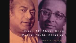 raag jogiya kalingra jugalbandi by pandit nikhil banerjee and ustad ali akbar khan