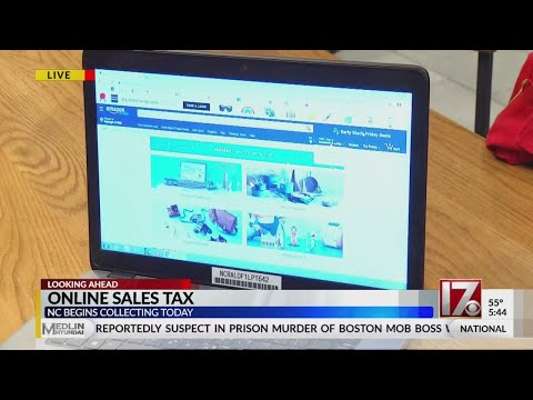 NC Now Collecting Sales Tax On Online Purchases