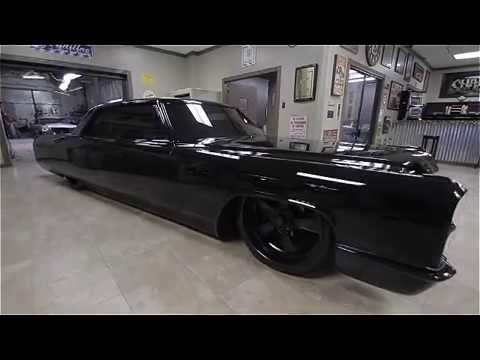 Ponys Murdered Out 1966 Cadillac Coupe DeVille  YouTube