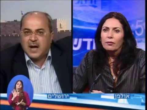 עימות בין מירי רגב ואחמד טיבי בעקבות רצח הנער הפלסטיני