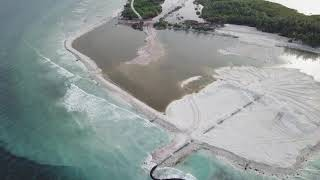 Land reclamation for airport