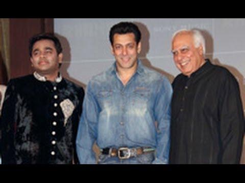 Salman Khan Launches AR Rahman & Kapil Sibal Album 'Raunaq'