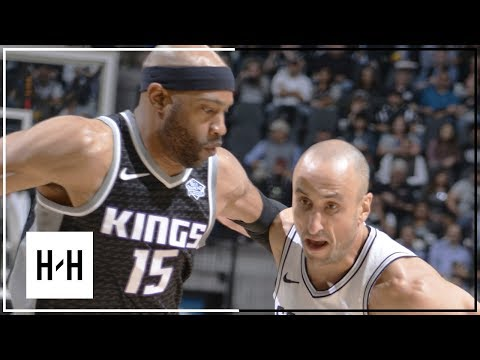 San Antonio Spurs Full Highlights vs Sacramento Kings | April 9, 2018 | 2017-18 NBA Season