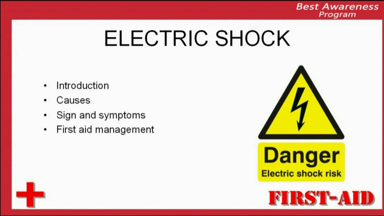 Introduction of electric shock, what is electric shok, definition of  electric shock
