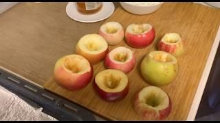 🍎Запеченные яблоки с творогом и корицей🍏