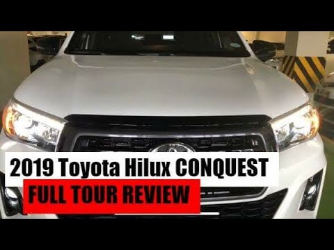 2019 Toyota Hilux Conquest 2 4l 6spd Mt Full Tour Review Youtube