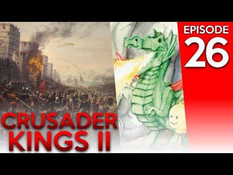 Crusader Kings 2 Breaking Free w/ AuldDragon 26: Trade Post Bug