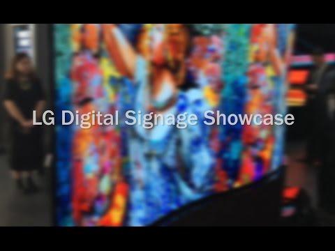 LG Digital Signage Showcase