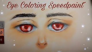 How I Color Eye With Copic | Graphic Narcissistic