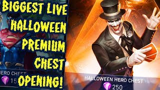 Injustice 2 Mobile LIVE. HUGE PREMIUM CHEST OPENING! Warrior Queen Wonder Woman Challenge.