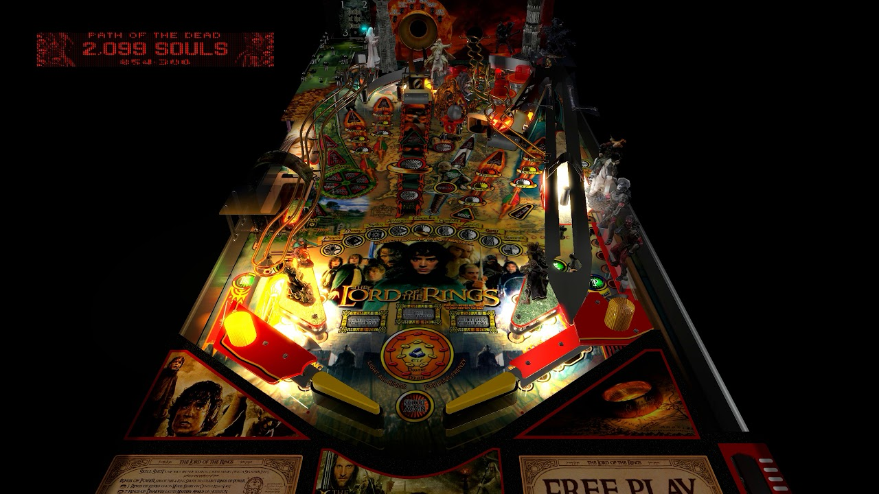 VPX Lord of the Rings Pinball on PC